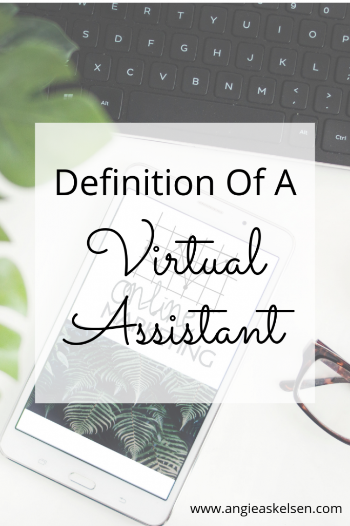 Definition of a Virtual Assistant